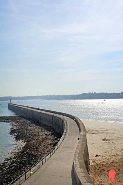Ponton - visiter Saint-Malo