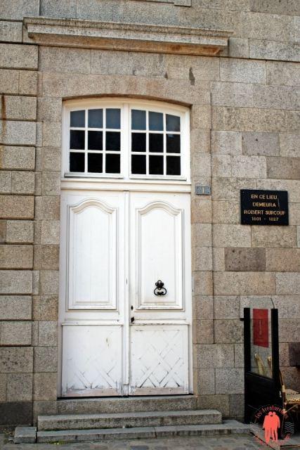 Porte Maison Surcouf - Visiter Saint-Malo