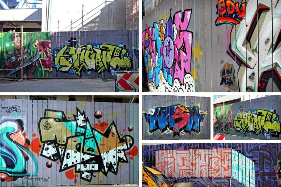 Façade Chantier Street-Art - Visiter Rennes