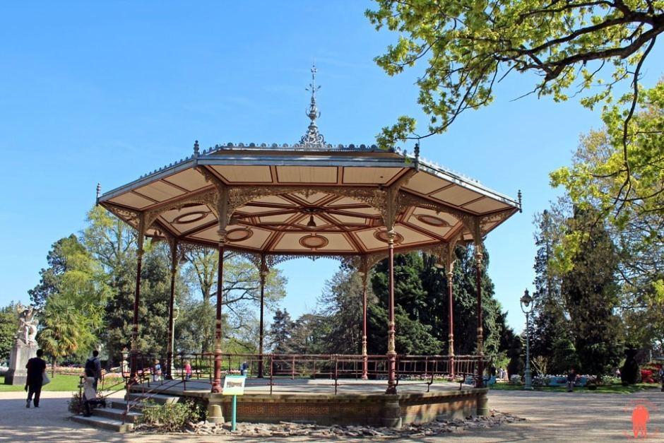 Kiosque Parc du Thabor - Visiter Rennes