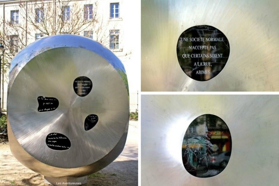 Œuvre éphémère - Visiter Rennes