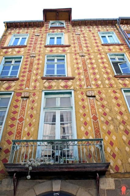 Rue du Chapitre - Maison à pan de bois - Visiter Rennes