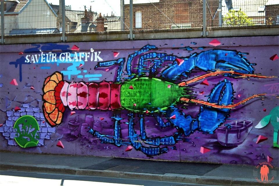 Visiter Rennes - Street-art Saveur Graphik Lobster