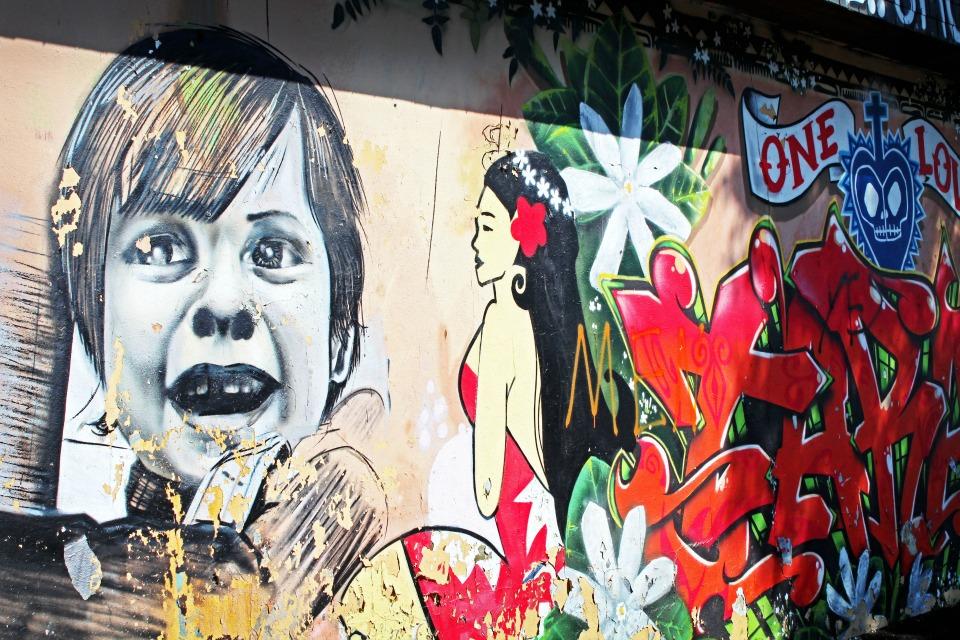 Visiter Rennes - Street-art gamin