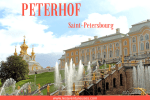 Palais de Peterhof - Illustration Blog les Aventureuses