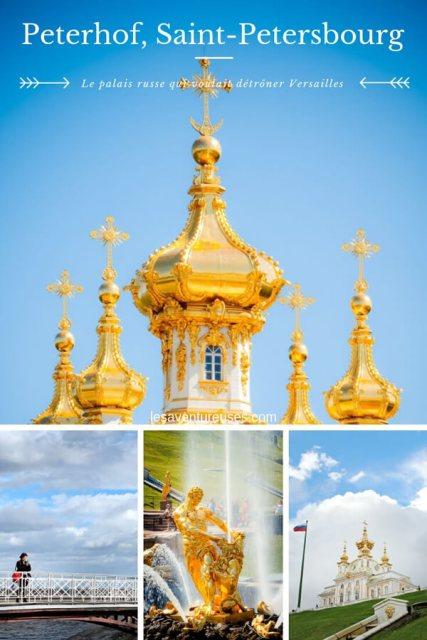 Visiter Peterhorf Saint Petersbourg