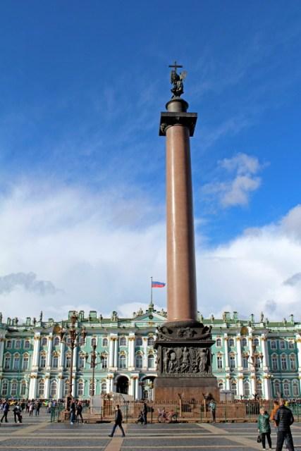 Visiter Saint Petersbourg - Place Ermitage 1