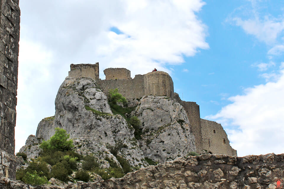 Donjon-san-jordi-Peyrepertuse - Châteaux Cathares
