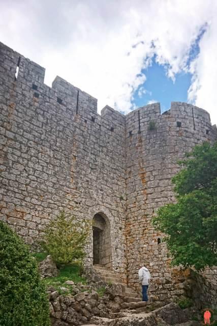 Entrée du chateau de Peyrepertuse - Chateaux Cathares