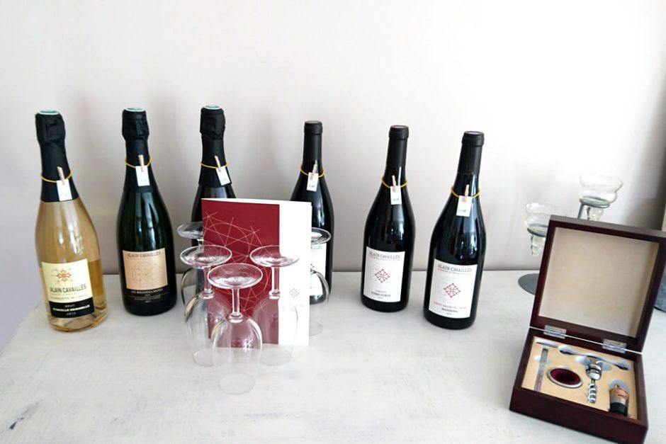 Exposition vin biologique Alain Cavailles