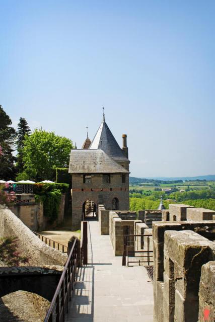 Rempart-cite Carcassonne Châteaux-Cathares