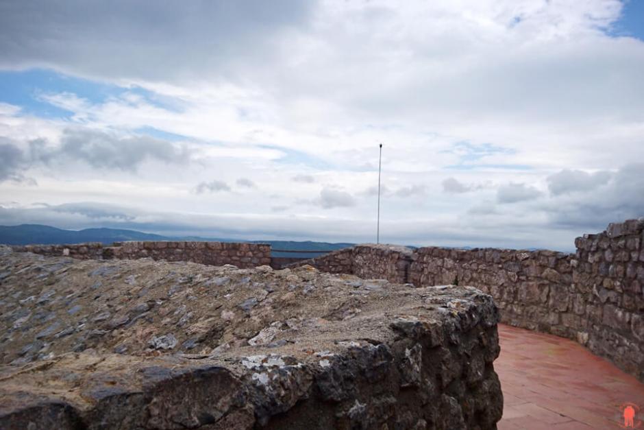 Terrasse du Château de Quéribus - Châteaux Cathares