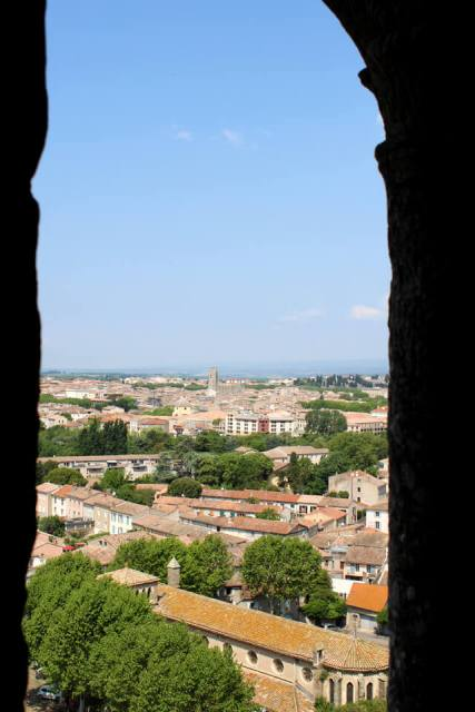 Vue depuis les remparts - Carcassonne