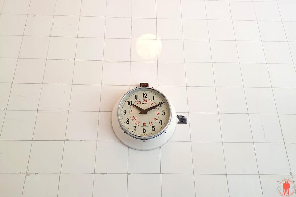 Horloge Villa Cavrois à Croix entre Roubaix et Tourcoing