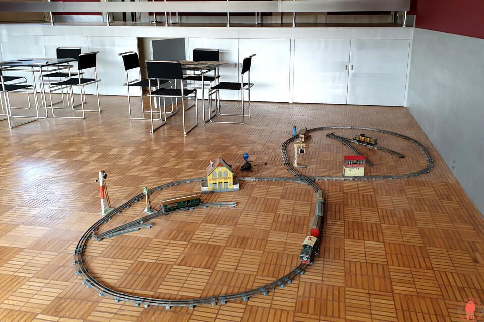 Salle de jeux Train Villa Cavrois Croix