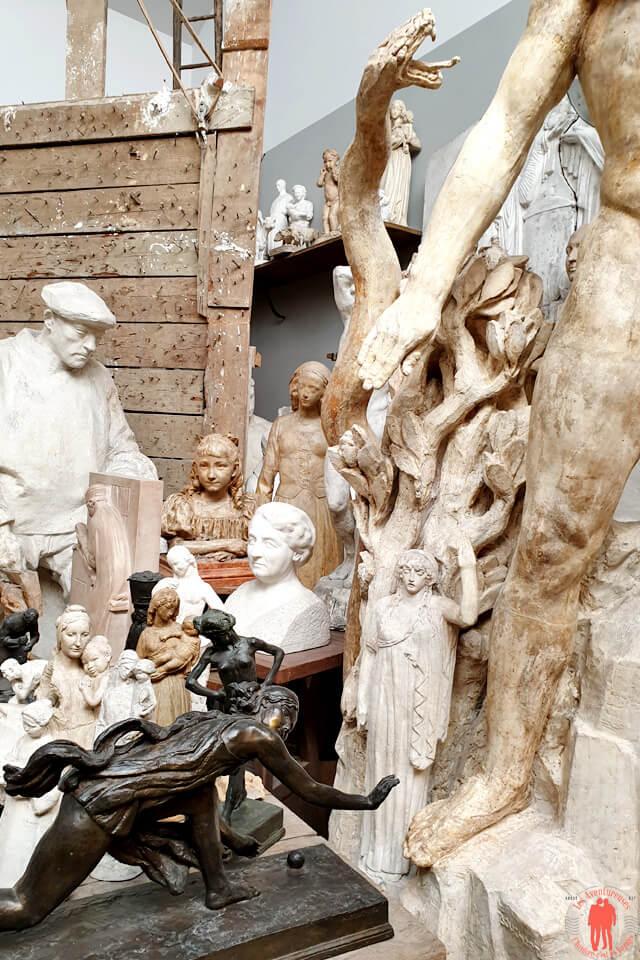 Autres Sculptures de l'artiste Henri Bouchard reconstitué en Atelier d'artiste à la Piscine de Roubaix