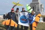 4 participants au meeting vdp du blanc nez , David, Alain, JF, Vincent