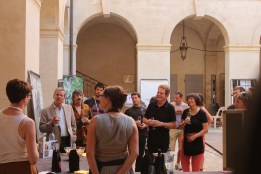 Dégustation de vin autour de Fanny Jorda-Iniguez