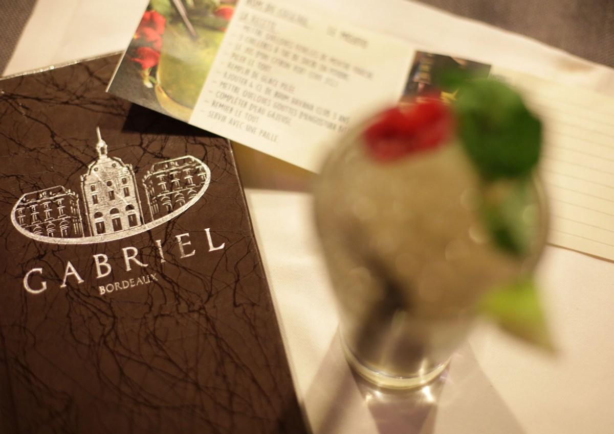 Cours de Cocktail au Gabriel