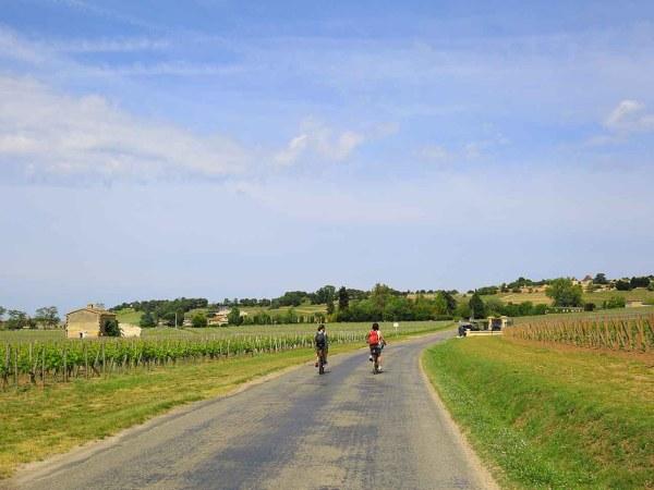 Visiter la région de Saint Emilion à vélo