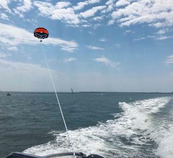 Le parachute ascensionnel à Arcachon