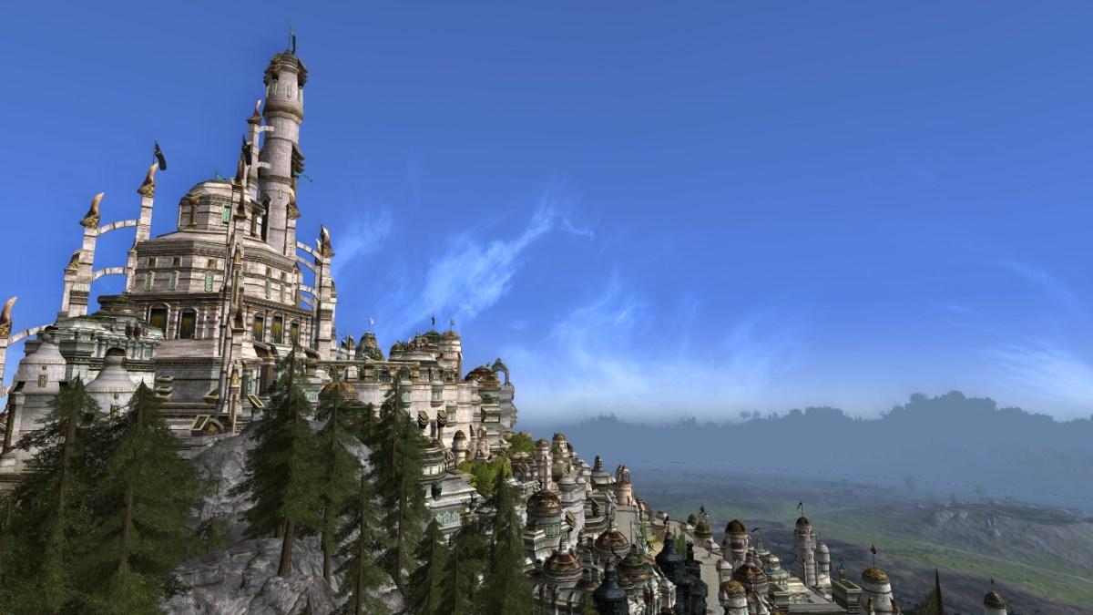 Minas Tirith: Au soleil (tulutu…)