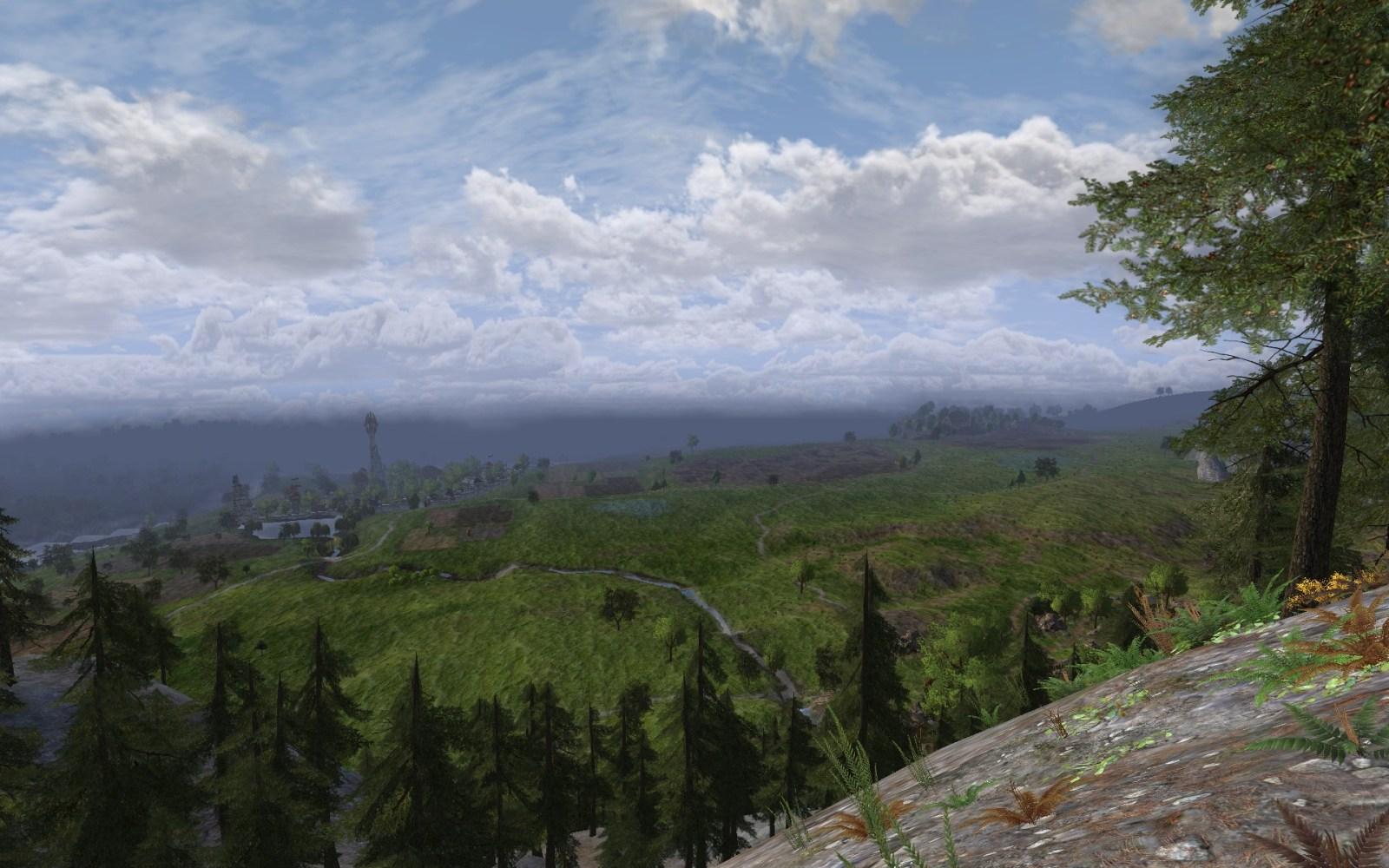 Mur de l'Est: une vallée dans la montagne (1/5)