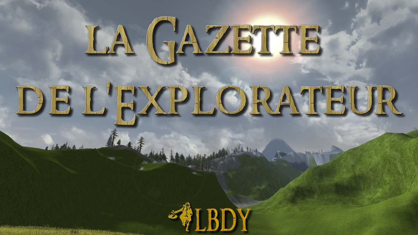 La Gazette de l'Explorateur : Décembre 2017