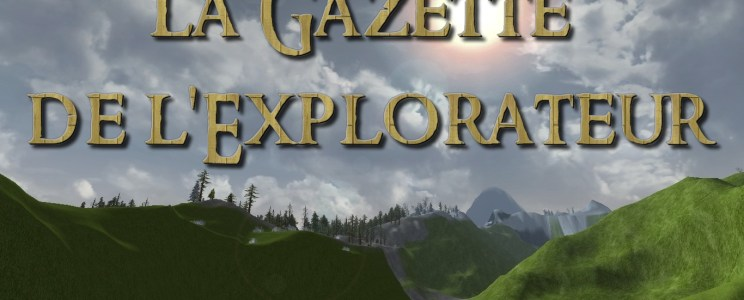 La Gazette de l'Explorateur : Octobre 2017