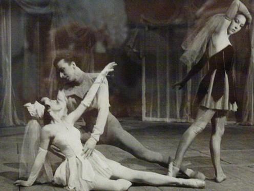 Sérénade, la scène de 'ange noir en 1947.