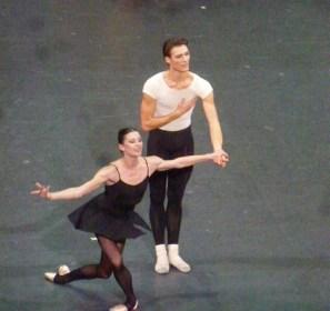 Marie-Agnès Gillot et Hugo Marchand...