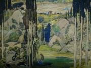 Daphnis et Chloë, décor pour l'acte I et 3 (1912)