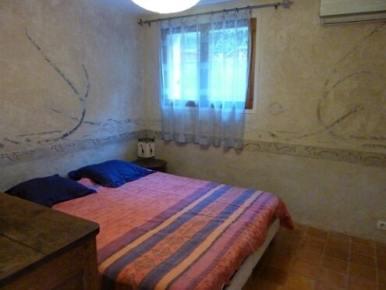 photo de la chambre lit double