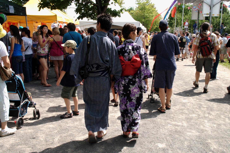 Pour une septième année, Montréal est l'hôte d'un Matsuri
