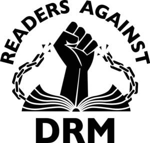 Les lecteurs contre les DRM Illustration de Nina Paley publiée sous le statut de Creative Commons (https://readersbillofrights.info)