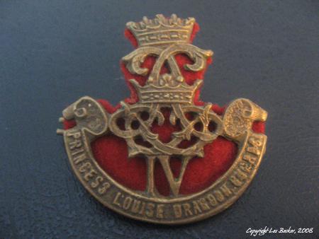 Princess Louise Dragoon Guards Emblem – World War II