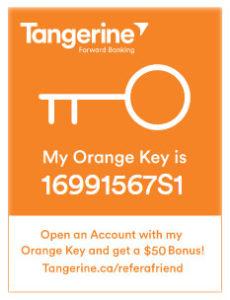 Tangerine-Orange-Key