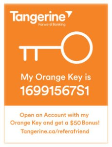 Tangerine Bank and Your Savings Goals…