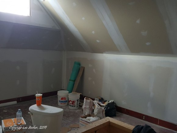 Reno - drywall in living space