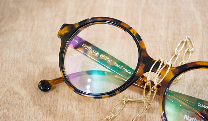 Bientot Noel, chainettes lunettes Les Belles Gueules opticien Bordeaux