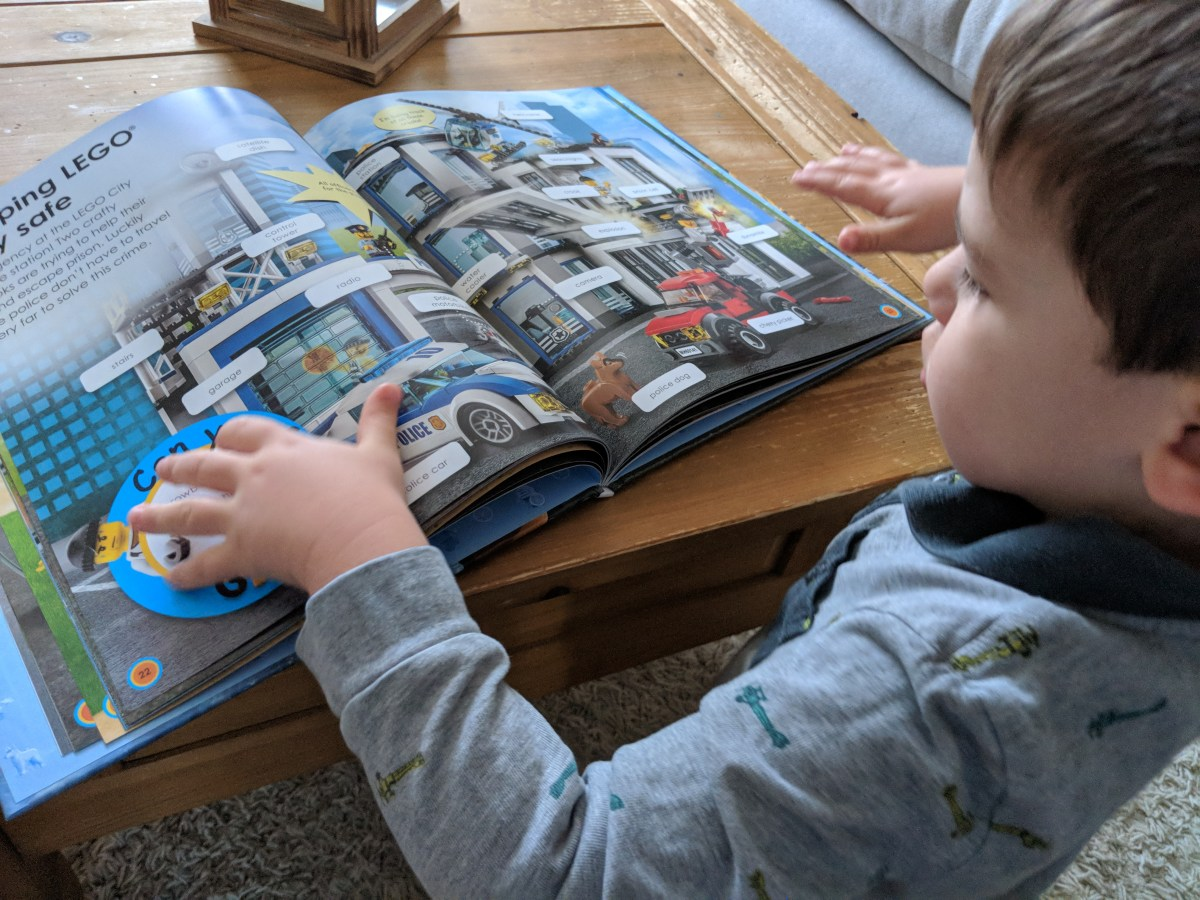 T's Reads: The Lego City 'Busy Word' Book {Review}
