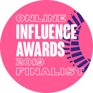 Vuelio Awards Finalist Badge