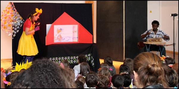 gribouille dans le cadre du festival Les berniques en Folie à l'Ile d'Yeu