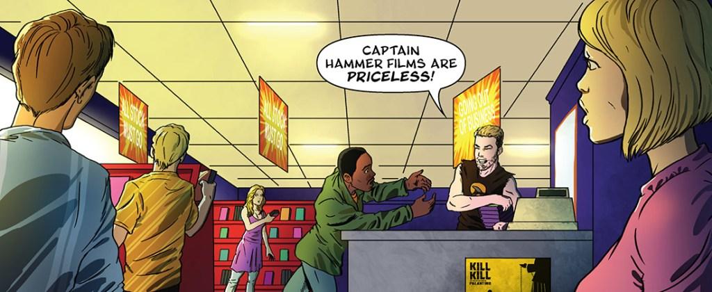 Captain Hammer films are priceless!