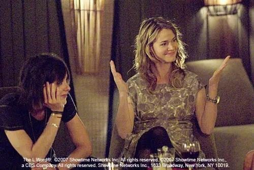 Jenny y Alice en The L Word