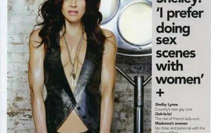 Rachel Shelley prefiere filmar escenas de sexo con chicas