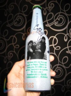 Botella heineken 1