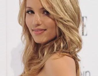 Dianna Agron quiere besar a Heather Morrison en Glee