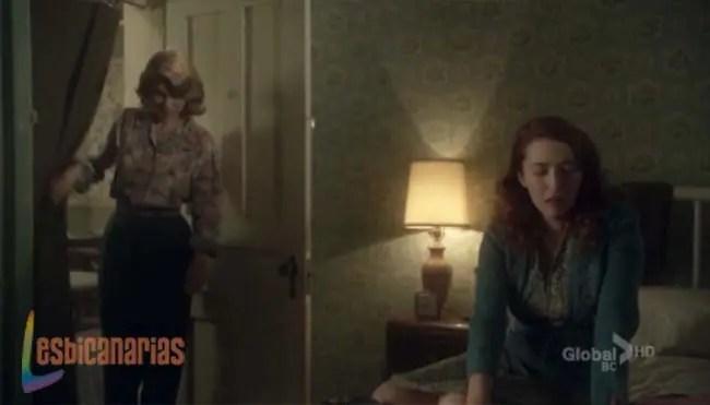 Betty y Kate en el cuarto