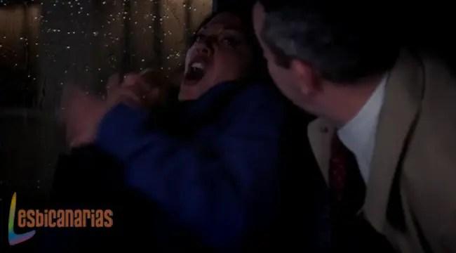 Callie asustada